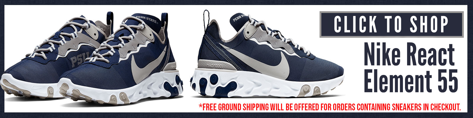 Click to Shop Penn State React Element 55