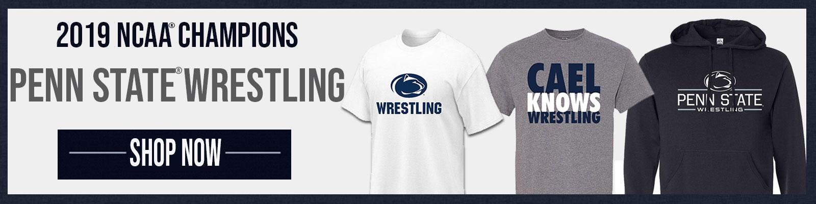 Shop our Penn State Wrestling Apparel
