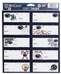 Penn State Holiday Gift Tag Sticker Sheet