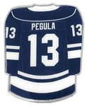 Penn State Pegula Hockey Lapel Pin NAVY