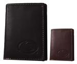 Penn State Contrast Stitch Tri Fold Wallet