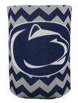 Penn State Nittany Lions Logo Chevron Koozie NAVYWHITE