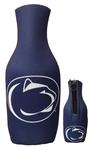 Penn State Logo Zippered Navy Bottle Koozie