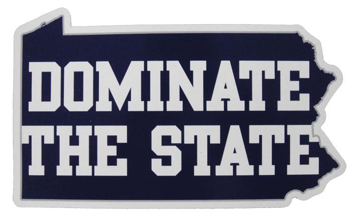 Penn State Quot Dominate The State Quot Magnet Souvenirs Gt Home