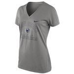 Penn State Nike Women's Legend V-Neck T-Shirt