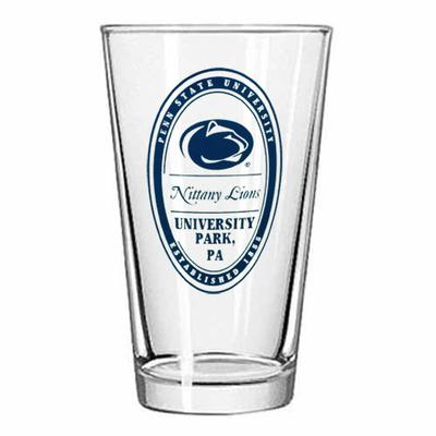 Neil Enterprises - Penn State University 16oz Oval Pint Glass