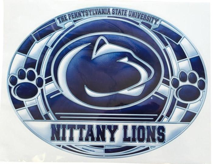 Penn State Ultra Stained Glass Decal Souvenirs