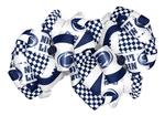 Penn State Nittany Lions 2 Pack Checker Bows