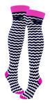 Penn State Knee High Chevron Socks