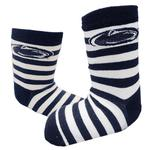 Penn State Infant Striped Rugby Socks