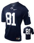 Penn State Nike Men's Adult Jersey #81 Replica