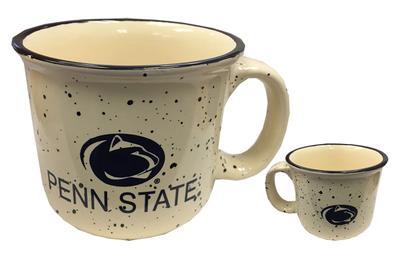 Prism Promotions - Penn State Camper Speckled Block Mug