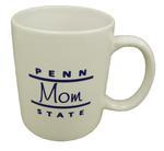 Penn State Mom Line Mug WHITE
