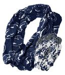 Penn State Logo All Over Infinity Scarf