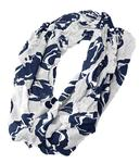 Penn State Logo All Over Infinity Scarf WHITE