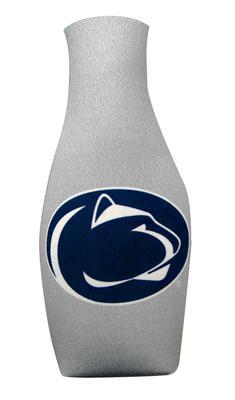 JayMac - Penn State Nittany Lions Zippered Grey Bottle Koozie