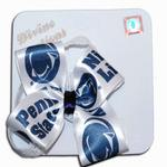 Penn State Nittany Lions Infant Logo Bow Headband NAVYWHITE