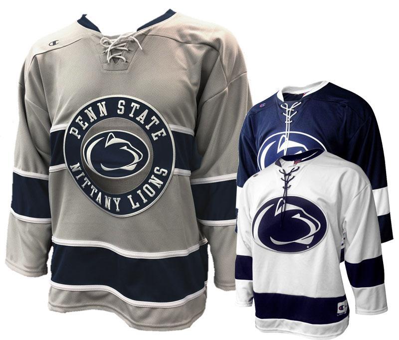 save off a641c 78b4e Penn State Nittany Lions Champion Hockey Jersey | Jerseys ...