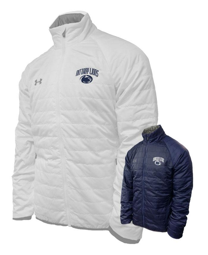 Penn State Men's UA SMU Quilt Puffy Jacket | Mens