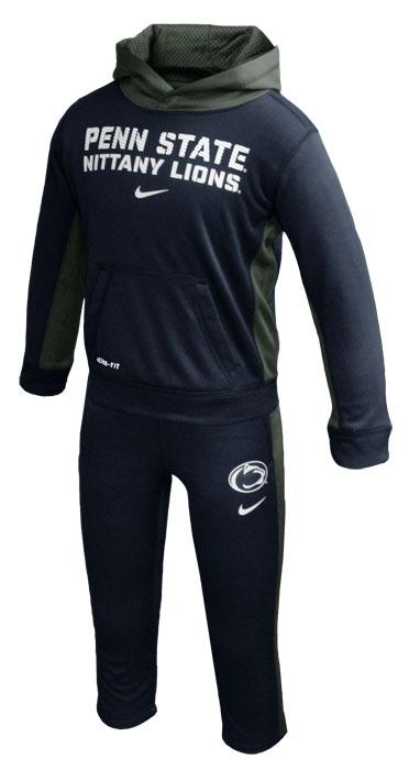 Penn State Nike Toddler Hoo and Pant Therma FIT Set