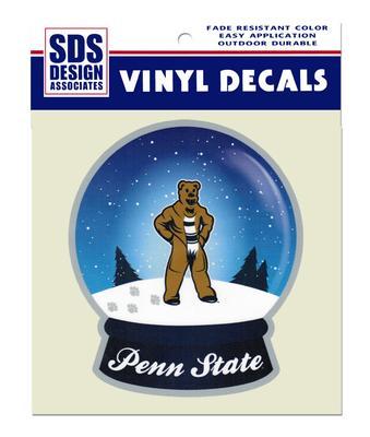 Penn State Mascot Snow Globe Decal Souvenirs Gt Car