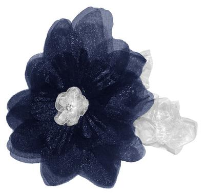 Divine Creations - Penn State Infant Flower Stretch Headband