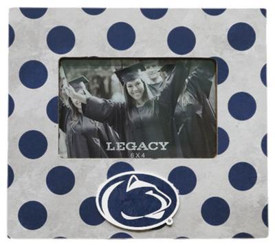 Legacy - Penn State Polka Dot 4x6 Picture Frame