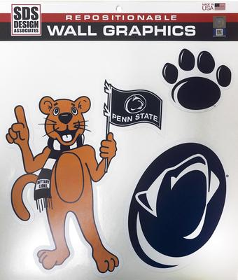 SDS Design - Penn State Mascot Wall Graphic Decal Set