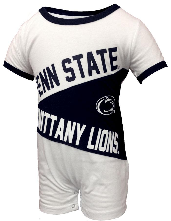 Penn State Infant Color Block Romper