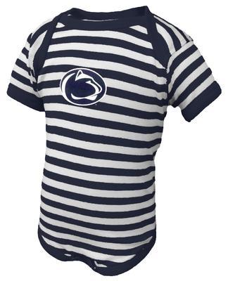 Penn State Infant Logo Only Lap Shoulder Creeper NVSTP