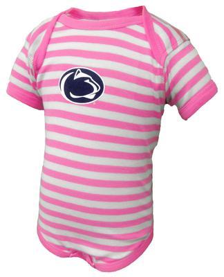Penn State Infant Logo Only Lap Shoulder Creeper PKSTP