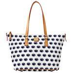 Penn State Dooney & Bourke Shopper Tote Bag WHITE