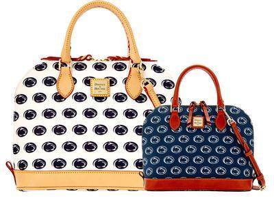 Dooney & Bourke - Penn State Dooney & Bourke Double Zip Satchel Bag