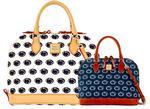 Penn State Dooney & Bourke Double Zip Satchel Bag