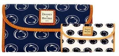 Dooney & Bourke - Penn State Dooney & Bourke Continental Wallet Clutch
