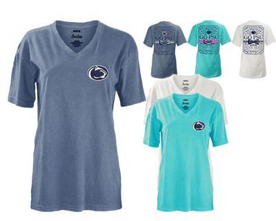 Press Box - Penn State Women's Legacy Bow T-Shirt