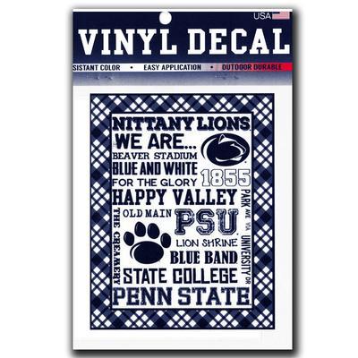 SDS Design - Penn State Spirit Block 6