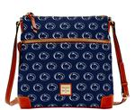 Penn State Dooney & Bourke Crossbody Bag NAVY