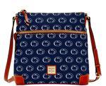 Penn State Dooney & Bourke Crossbody Bag NAVY