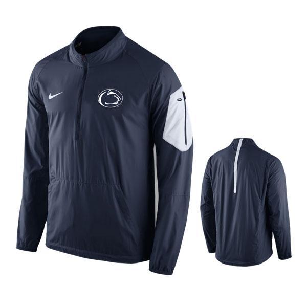Penn State Nike Men's Lockdown Half Zip Jacket