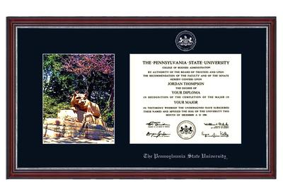 Church Hill - Penn State Lion Shrine Alumni Diploma Frame