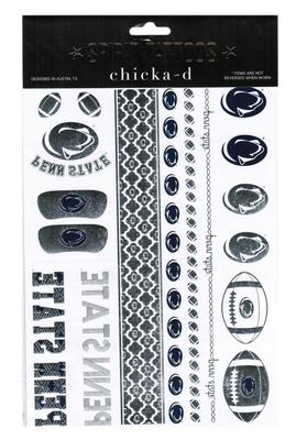 Chicka-D - Penn State 2-Pack Metallic Spirit Tattoo