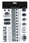 Penn State 2- Pack Metallic Spirit Tattoo