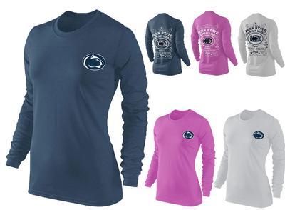 Press Box - Penn State Women's Cotton Long Sleeve