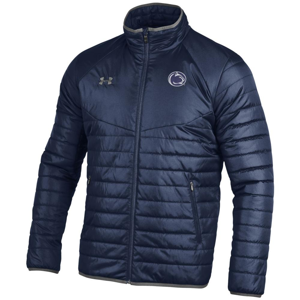 Penn State Under Armour Men's Puffer Sweater Jacket | Mens