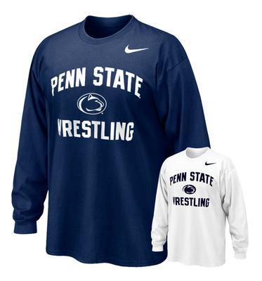 NIKE - Penn State Wrestling Nike Adult Long Sleeve