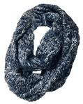 Penn State Duo Color Knit Infinity Scarf
