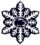 Penn State Snowflake Magnet