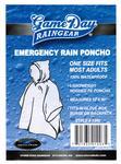 Clear Rain Poncho CLEAR