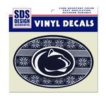 Penn State Ugly Sweater Decal